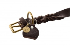 designer-braided-leather-dog-collar-brown