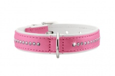 luxus-collar-hunter-front-pink