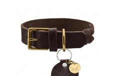 zanzibar-brown-luxury-dog-collar-front-3