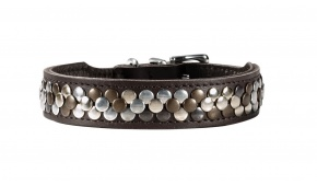 arizona-leather-dog-collar-hunter-brown