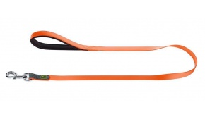 comfort-neoprene-dog-leash-orange-hunter