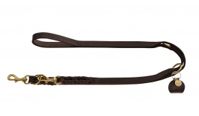 designer-braided-leather-dog-leash-brown