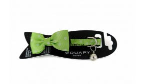 green-bowtie-cat-collar