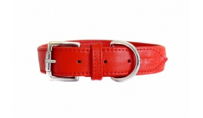 leather-dog-collar-amalfi-red