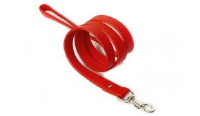 red-amalfi-leather-dog-leash