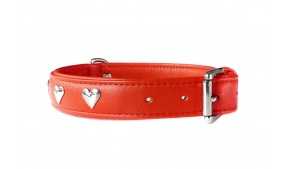 red-dog-collar-leather-hearts