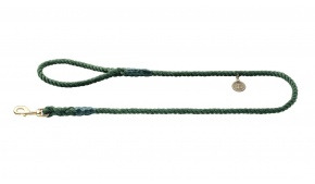 rope-leather-dog-leash-green