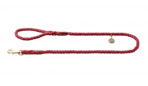 rope-leather-dog-leash-red