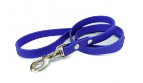 waterproof-biothane-dog-leash-stainless-blue