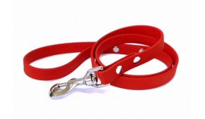 waterproof-dog-leash-red-stainless