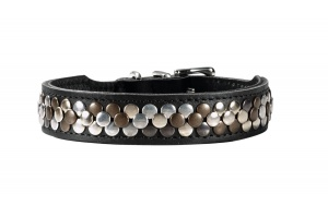 arizona-leather-dog-collar-hunter-black