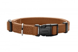 canadian-elk-small-dog-collar-leather-cognac