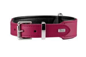 hunter-split-leather-pink-dog-collar