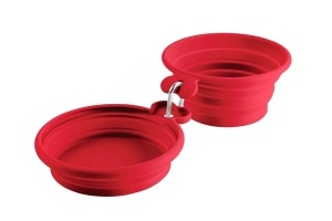red-double-travel-dog-bowls