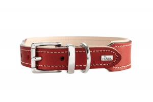 virginia-organic-leather-dog-collar-red