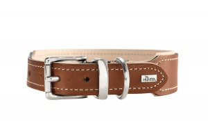 virginia-organic-leather-dog-collar-rust-brown