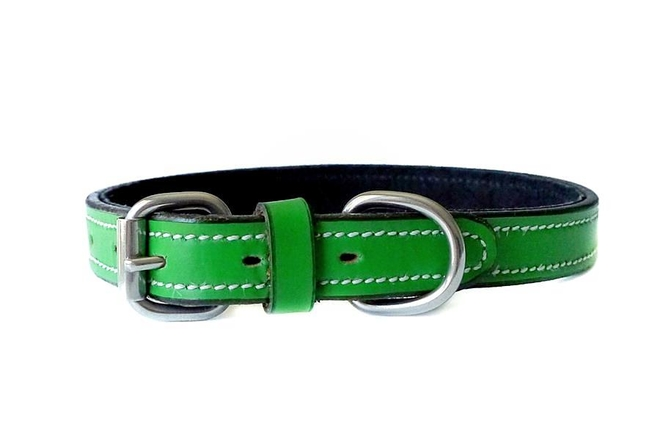 fiesta-green-leather-collar